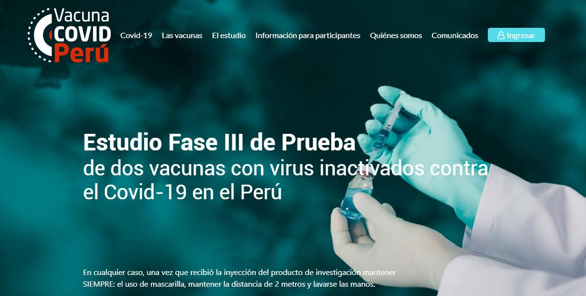 Los Ensayos clínicos y las vacunas contra la COVID-19 en el Perú