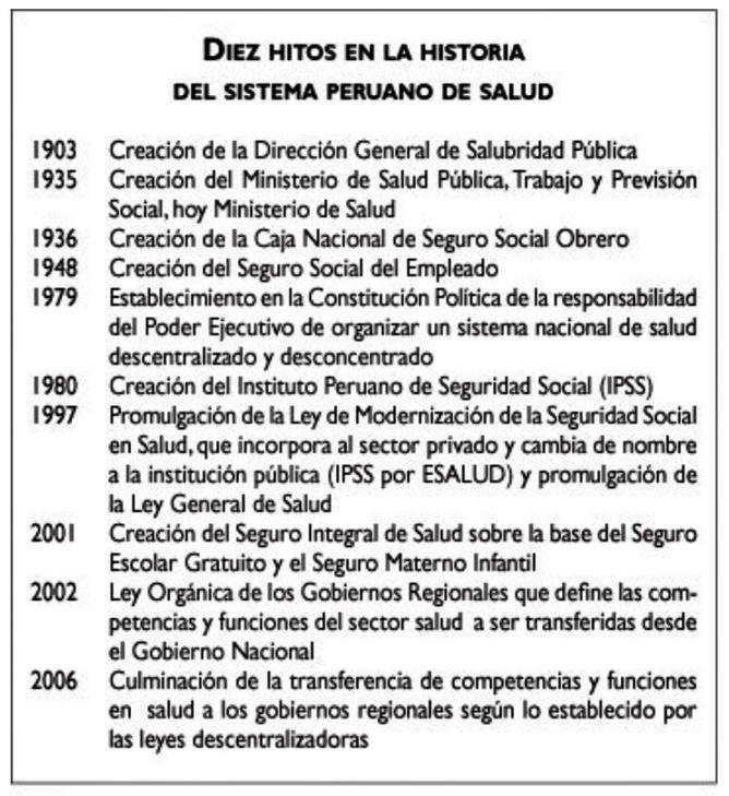 LA INCERTIDUMBRE DE SER MINISTRO DE SALUD